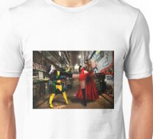 Rogue vs Ms Marvel Unisex T-Shirt