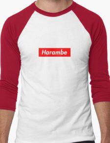 harambe Men's Baseball ¾ T-Shirt