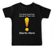 The Most Important Quest - WoW Nerd Gamer Geek Kids Tee