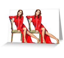 Kristen Wiig SNL Host Greeting Card
