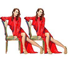 Kristen Wiig SNL Host Photographic Print