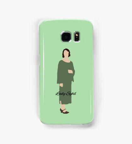 Lady Sybil - Downton Abbey Samsung Galaxy Case/Skin