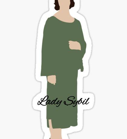 Lady Sybil - Downton Abbey Sticker