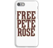 Lift the ban on Pete Rose! iPhone Case/Skin
