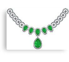 Duchess of Windsor's Emeralds Canvas Print