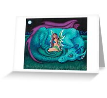 Fairy Dragon Greeting Card