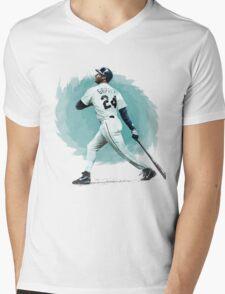 Ken Griffey Jr. Mens V-Neck T-Shirt