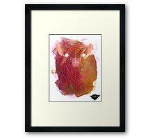 Buffalo spirit King Framed Print