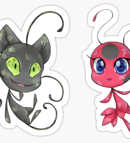 Tikki & Plagg Stickers Sticker