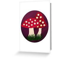 Faerie Shrooms Greeting Card