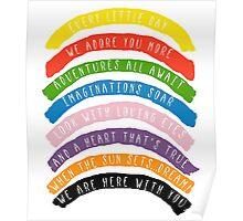 My Little Rainbow Poster