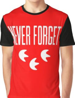 """Never Forget"" Pokemon Go 3-step Merch Graphic T-Shirt"