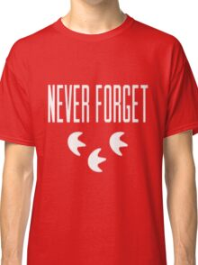 """""""Never Forget"""" Pokemon Go 3-step Merch Classic T-Shirt"""