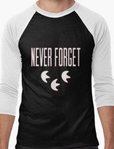 """""""Never Forget"""" Pokemon Go 3-step Merch Men's Baseball ¾ T-Shirt"""