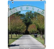 Riverside Cemetery iPad Case/Skin