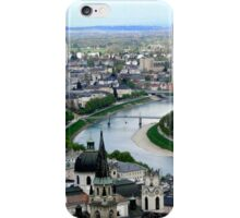 Salzburg from the Sky iPhone Case/Skin