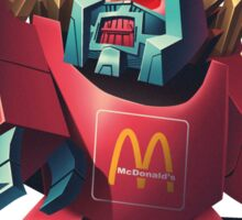 McChangeable LargeFries(Fry Force) Sticker