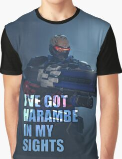 Harambe In My Sights Graphic T-Shirt