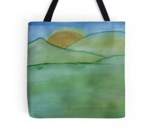 Rainless Mornings Tote Bag