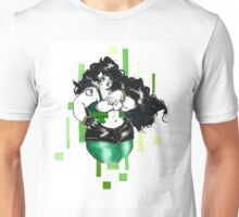 Green With Envied Curves Unisex T-Shirt