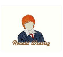 Ronald Weasley. Art Print