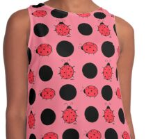 Ladybugs and Spots Contrast Tank