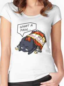 What A Pain Women's Fitted Scoop T-Shirt
