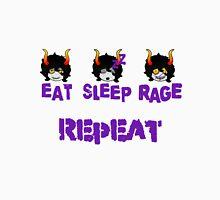 Eat Sleep Rage Repeat Unisex T-Shirt