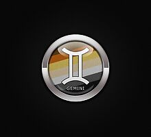 Gemini - Bear Pride  by LiveLoudGraphic