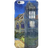 Dr., Van Gogh and the Church at Auvers iPhone Case/Skin