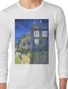 Dr., Van Gogh and the Church at Auvers Long Sleeve T-Shirt
