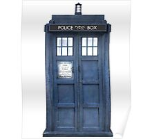 Tardis Blue - The Police Box Poster