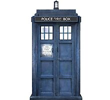 Tardis Blue - The Police Box Photographic Print