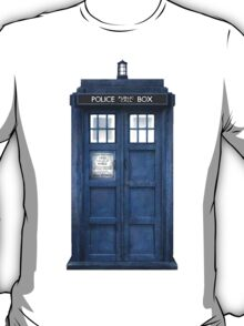 Tardis Blue - The Police Box T-Shirt