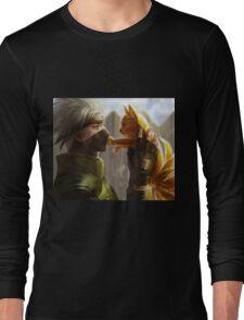 Kakashi et Bébé Kyubi Long Sleeve T-Shirt