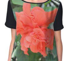 Vermilion Bloom Chiffon Top