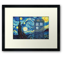 The Doctor and Vincent Framed Print