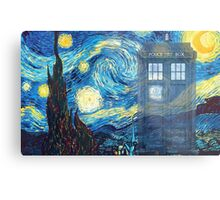 The Doctor and Vincent Metal Print