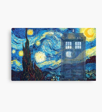 The Doctor and Vincent Canvas Print
