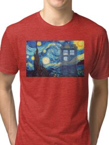 The Doctor and Vincent Tri-blend T-Shirt