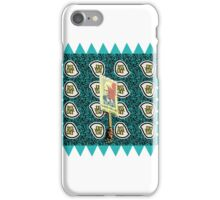 Fear Hate Lies Postage Stamp iPhone Case/Skin