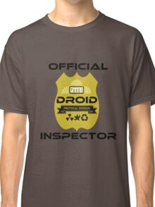 Official Droid Inspector Classic T-Shirt