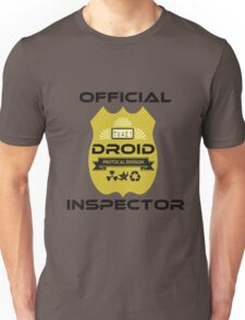 Official Droid Inspector Unisex T-Shirt