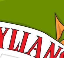 Legend of Zelda - the Hylians Football Team Logo Sticker