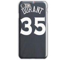 Kevin Durant - Golden State Warriors Jersey iPhone Case/Skin