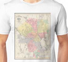 Vintage Map of Providence Rhode Island (1899) Unisex T-Shirt