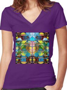 AGENDA 2030 Women's Fitted V-Neck T-Shirt
