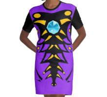 ANACONDRAI Graphic T-Shirt Dress