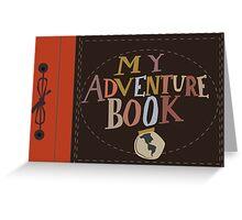 My Adventure Book Greeting Card