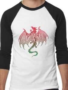 Dragon 578 Men's Baseball ¾ T-Shirt